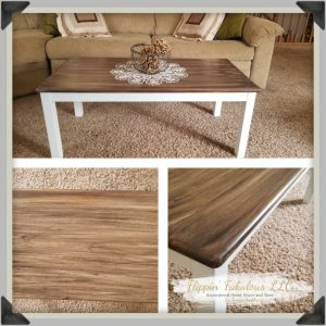 refinished coffee table2